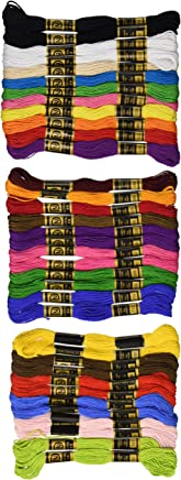 Janlynn Cotton Embroidery Floss Pack 8.75 Yards 36/Pkg-Primary Colors