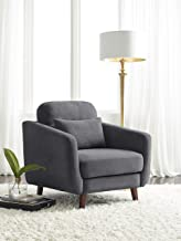 Serta Sierra Collection Arm Chair in Slate Gray