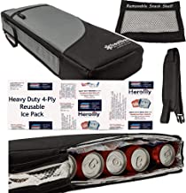 Frostbox Golf Bag Cooler with Ice Pack | Golf Accessories for Men | 6 Pack Cooler for Golf Bag | Bring Drinks from Home | ...