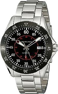 Hamilton - Reloj Analógico para Hombre de Automático con Correa en Acero Inoxidable H76755135