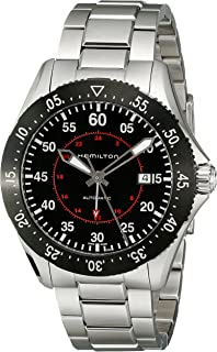 Hamilton Men's H76755135 Khaki Aviation Automatic Stainless Steel Watch,Silver