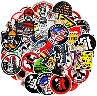 Hard Hat Stickers Tool Box Sticker Helmet Stickers Funny Decals for Worker Construction...