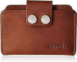 CAMELIO Tan Card Case (CAM-WL-0018)
