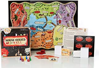 Golden Elixir House Guests From Hell Board Game And Table Game of Strategy, Fun For Family Parties, Single's Nights, Birthday Gatherings And More (2-12 Players)