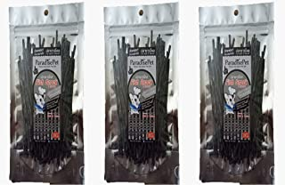 3 Sachet ParadisePet Sugar Glider, Hamster, Squirrel, Hedgehog, Chinchillas, Rabbit, Ferret, Small Pet Food Supplies Fish Snack & Charcoal (25 g.)