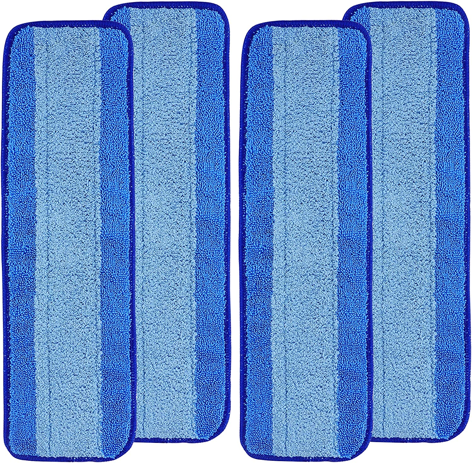 Fullclean Outstanding Max 65% OFF Microfiber Cleaning Pads Compatible with Bona - 4 Mop