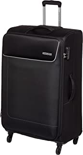 American Tourister Jamaica Soft Large Luggage trolley bag, Black, 80cm Spinner