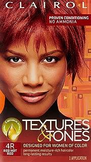 Clairol Professional Textures & Tones, 4r Hot Red, 1 oz