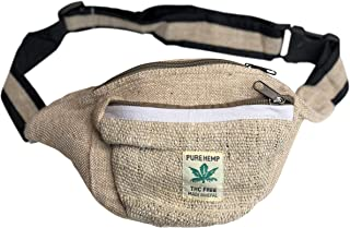 Hemp Waist Pack for Women - Handmade Designer Fanny Packs for Women