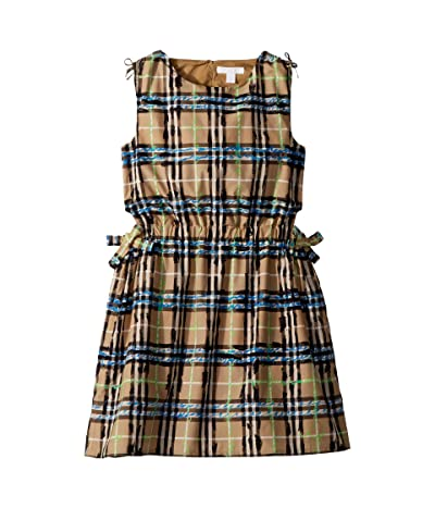 Burberry Kids Candra ACIEM Dress (Little Kids/Big Kids) (Bright Blue) Girl