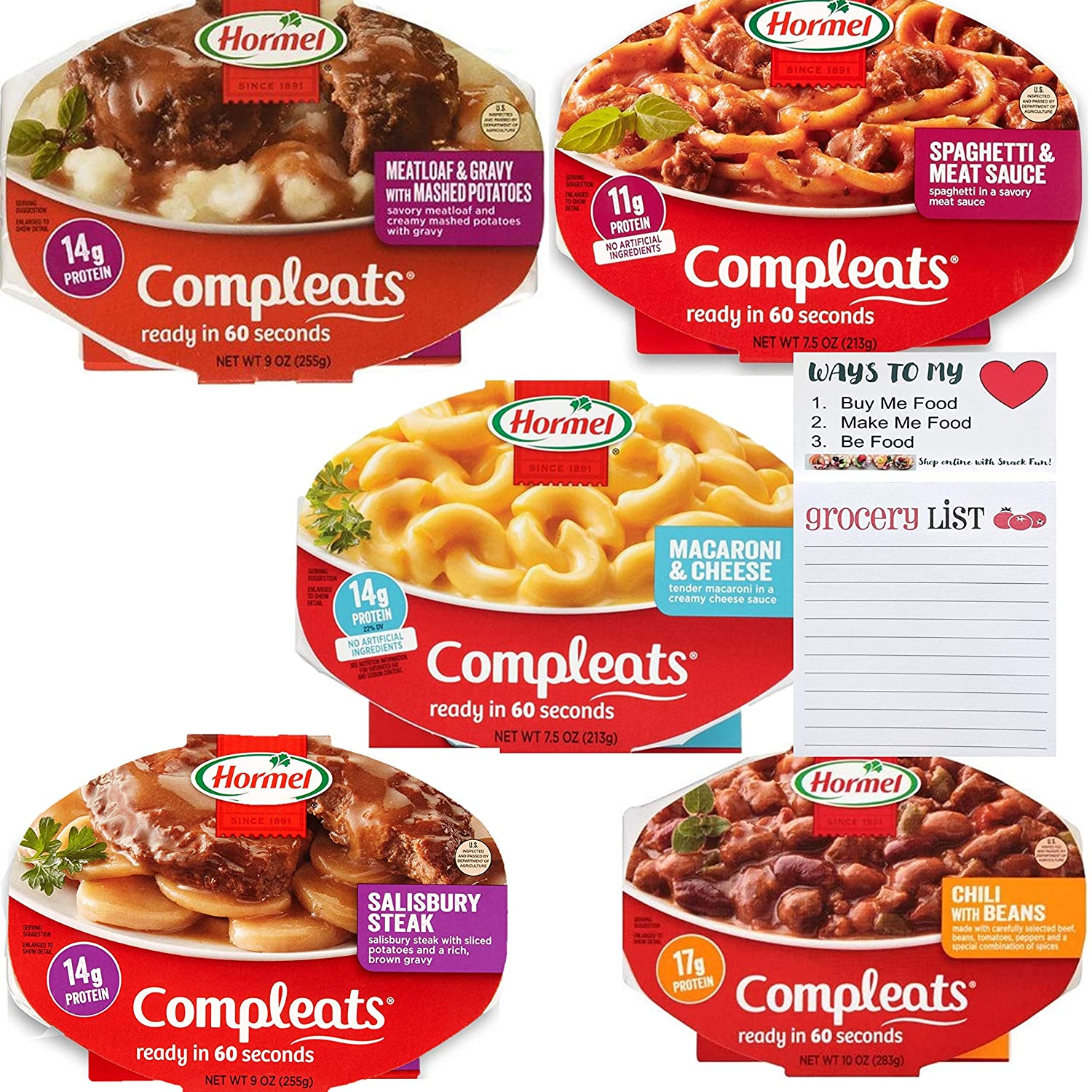 Hormel Compleats Ready to Eat Meals Industry No. 1 Pack Microwav Variety quality assurance 5 of