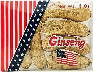 Premium Wisconsin American Ginseng Super Extra Large Jumbo Size Ginseng Full 4 Oz