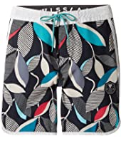 VISSLA Kids - Sea Snakes Four-Way Stretch Boardshorts 17