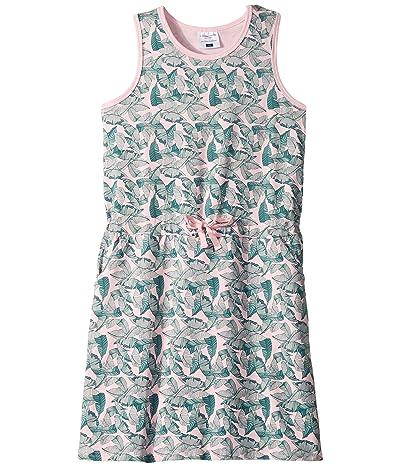 Toobydoo Beach Dress (Toddler/Little Kids/Big Kids) (Palm Leaf Print) Girl