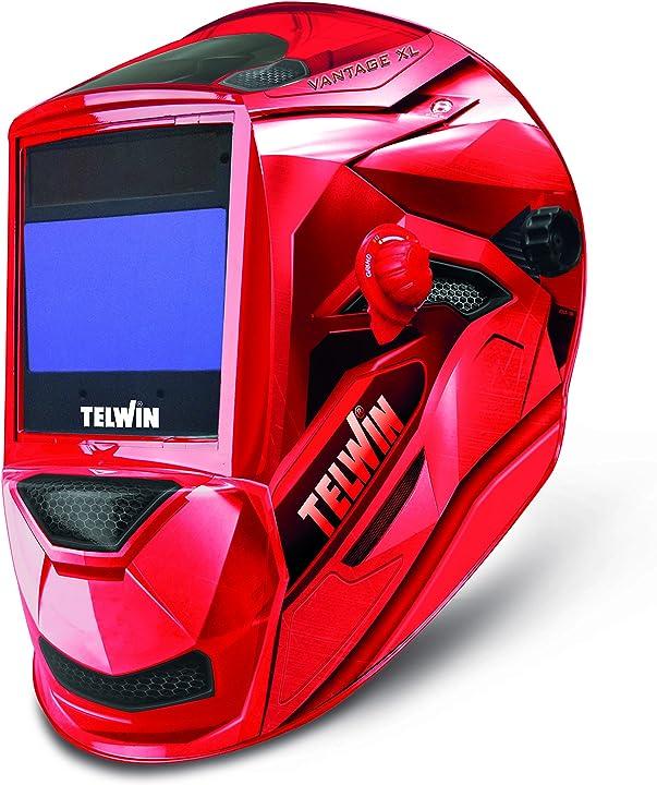 Casco per saldatura - telwin 802936 - schermo per saldatura vantage red xl