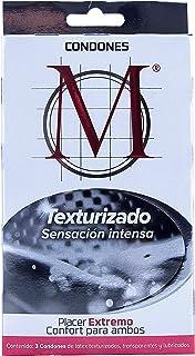 Condones M Texturizados 3 piezas