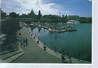 Post Card: Inner Harbour Premenade, Victoria, B.C. Canada, #AVT-1017, KS-8860