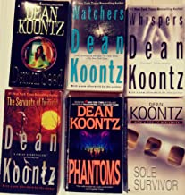 Six-Book Set of Dean Koontz books that have been made into movies -- Demon Seed / Watchers / Whispers / Servants of Twilig...
