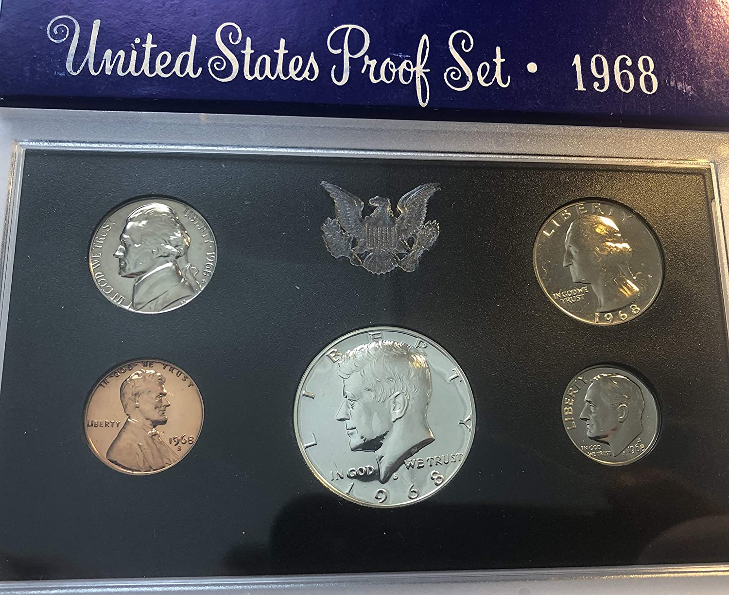 1968 P specialty shop 100% quality warranty US Proof Set Beautiful Comes in Original from the Packing