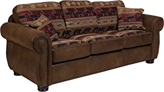 Porter Designs Hunter Sofa, brown