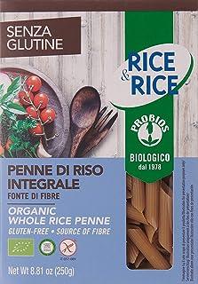 Probios Rice And Rice 250G Organic Whole Rice Penne - PASPRI0025