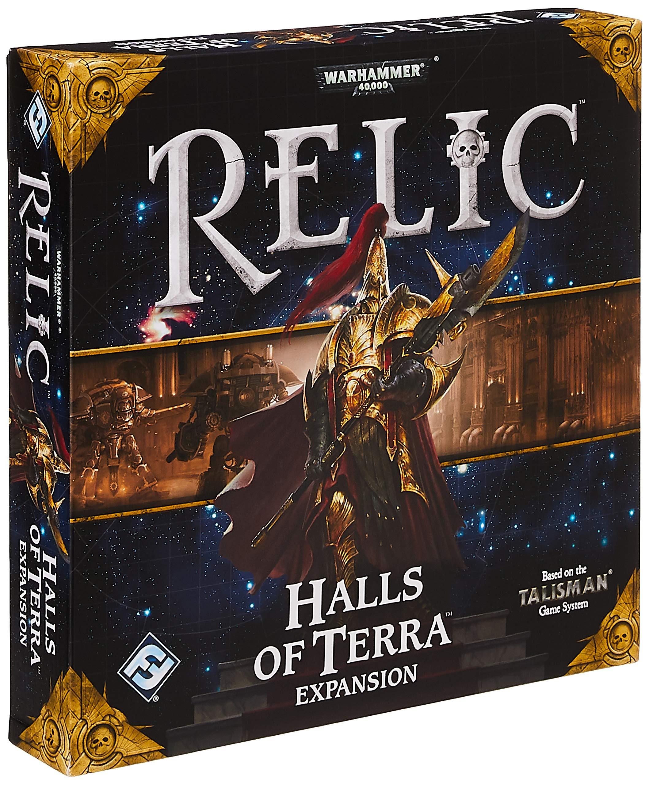 Warhammer 40k Relic Board Game - Halls of Terra Expansion: Fantasy Flight Games: Amazon.es: Juguetes y juegos