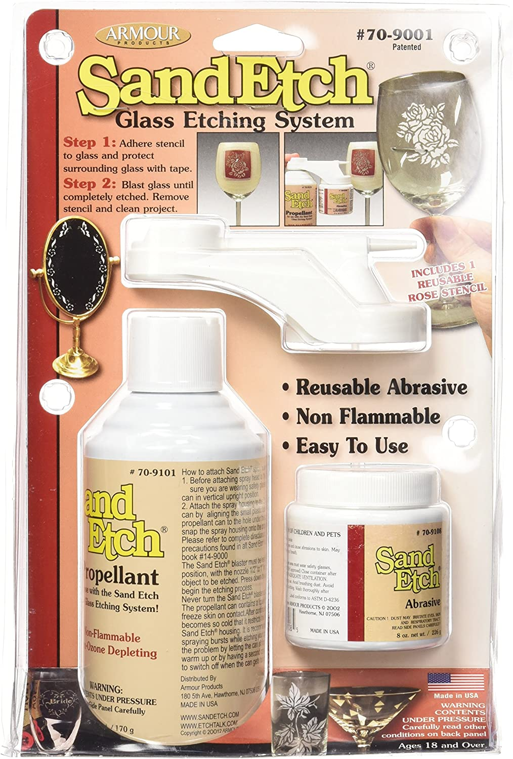Discount mail order Genuine Armour Products 70-9001 Sand Kit Etch