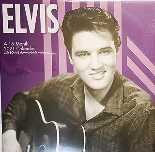2021 Elvis Wall Calendar