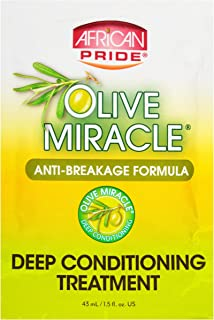 African Pride Olive Miracle Deep Conditioning Treatment 1.5oz #4019