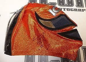 Kazushi Sakuraba Signed Mask BAS COA UFC New Japan Wrestling Pride Gracie Hunter - Beckett Authentication