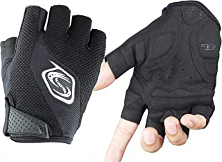 Seibertron Men's/Women's Half Finger/Fingerless Cycling MTB Gloves Road Racing Bicycle Gloves Biking Gloves Gel Pad Riding...