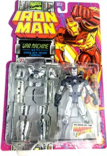 Iron Man War Machine with Shoulder Mount Cannons Action Figure