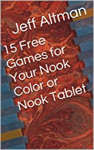 15 Free Games for Your Nook Color or Nook Tablet