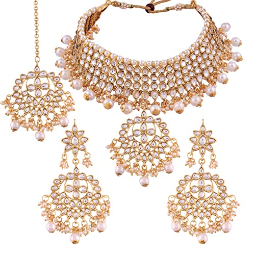c6fcd69b6d6b3 Wedding Necklace Set: Buy Wedding Necklace Set Online at Best Prices ...