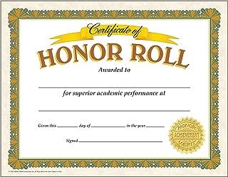 TREND enterprises, Inc. Honor Roll Classic Certificates, 30 ct