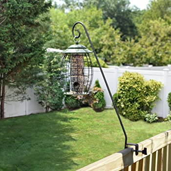 Heavy Duty Deck Hook, for Bird Feeders, Planters, Suet Baskets, Lanterns, Wind Chimes and More!