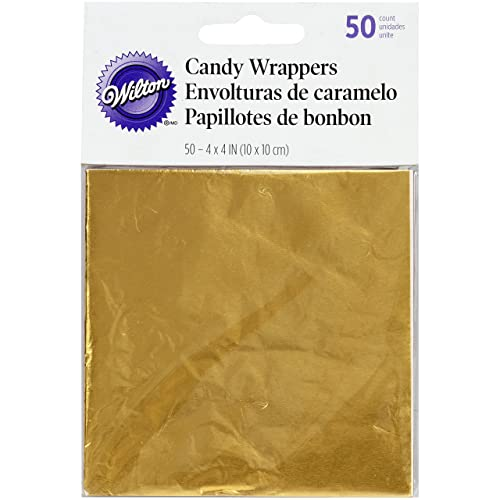 crumpled candy wrapper