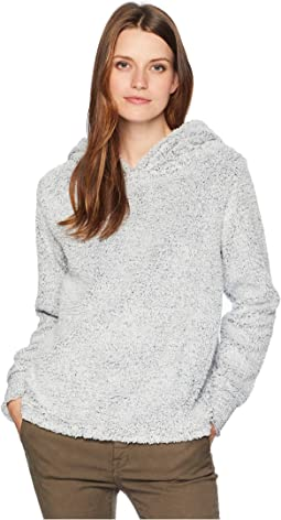 Fresh Air Fleece Cozy Hoodie with Reverse Cuff