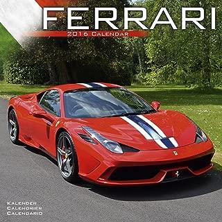 Ferrari Calendar- 2016 Wall calendars - Car Calendar - Automobile Calendar - Monthly Wall Calendar by Avonside