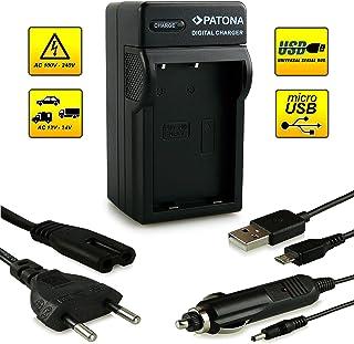 ¡Novedad! – El primero cargador de batería con conexión micro USB · adecuado para la batería EN-EL9 / EN-EL9a para Nikon D40 | D40x | D60 | D3000 | D5000 y mucho más…