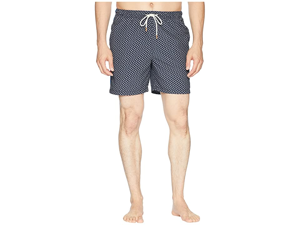 Tommy Bahama Naples A Fish Ionado Swim Trunk (Ocean Deep) Men