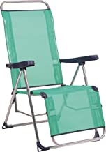 Alco-480ALF-0030 Relax Fibreline, gesloten voeten, kleur blauw-groen, 103 x 65 x 14 cm (1-480AZ).