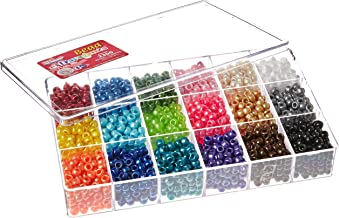 The Beadery Bead Extravaganza Bead Box Kit 19.75oz, Pearl
