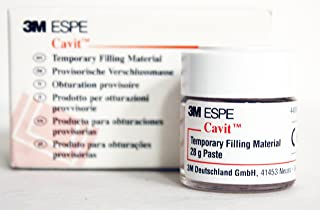3M 44030 Cavit P Self Cure Temporary Filling Material Refill, Pink, 28G Jar