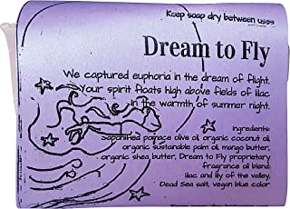 WATERFALL GLEN SOAP COMPANY - Dream to Fly, Bulgarian lilac and lily of the valley bath soap with shea butter 5.8oz
