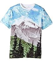 Stella McCartney Kids - Arrow Mountain Landscape Printed T-Shirt (Toddler/Little Kids/Big Kids)