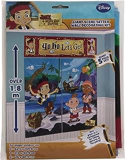 amscan Disney Jake and Neverland Pirates Scene Setters