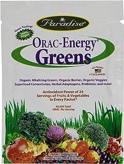 Paradise Herbs Orac Energy Vegetarian Capsules, Greens, 15 Count