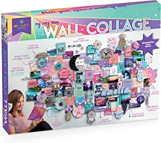 Craft-tastic – DIY Wall Collage – Craft Kit – Personalize Your Space with Inspiring Quotes, Pre-cut Designs & Pictures (In...