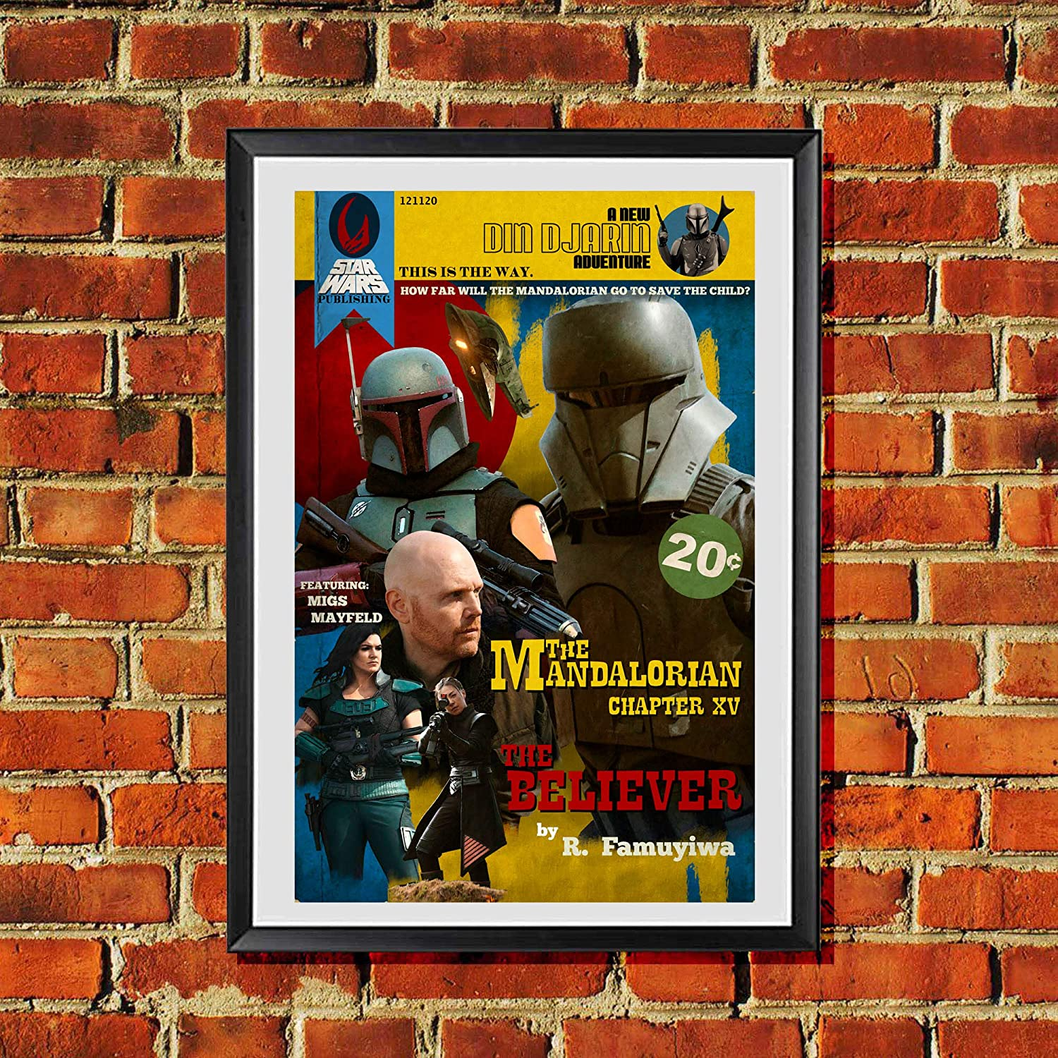 The Mandalorian Believer Migs Max 46% OFF Mayfeld Pulp Pr Year-end annual account Art Cover Book